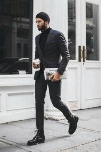 black men's style